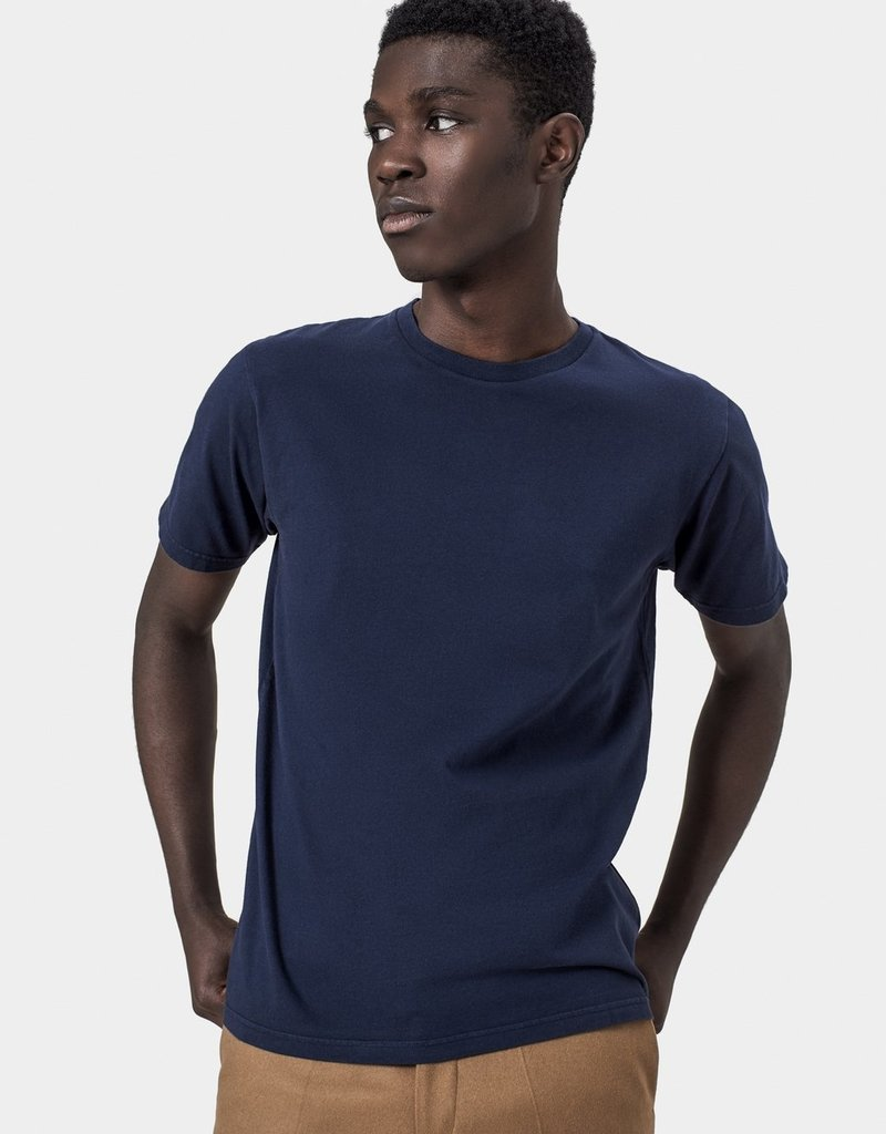 COLORFUL STANDARD Colorful Standard Cassic Organic Tee Navy Blue