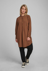 NÜMPH Numph Nubahira Long Shirt Bronze Brown