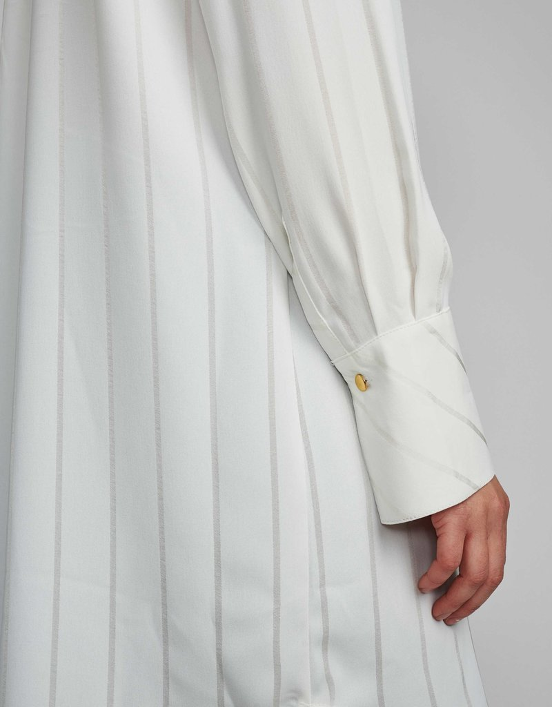 NÜMPH Numph Nubahira Long Shirt White