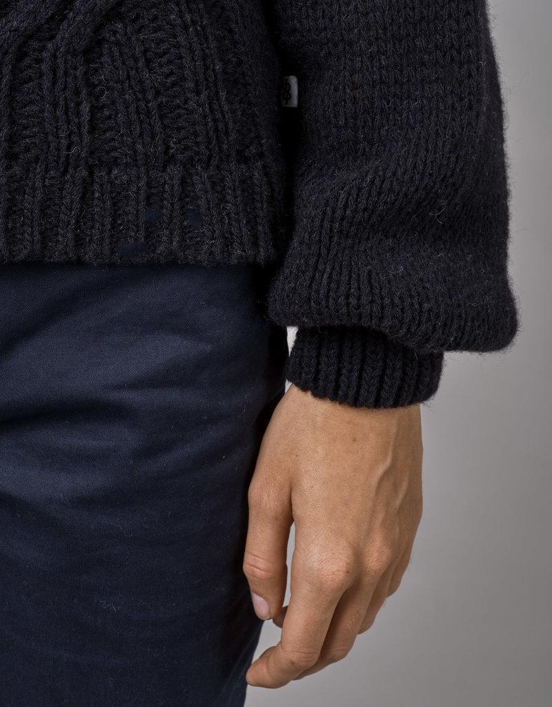KLITMØLLER COLLECTIVE Klitmoller Collective Viva Knit Black/Light Grey