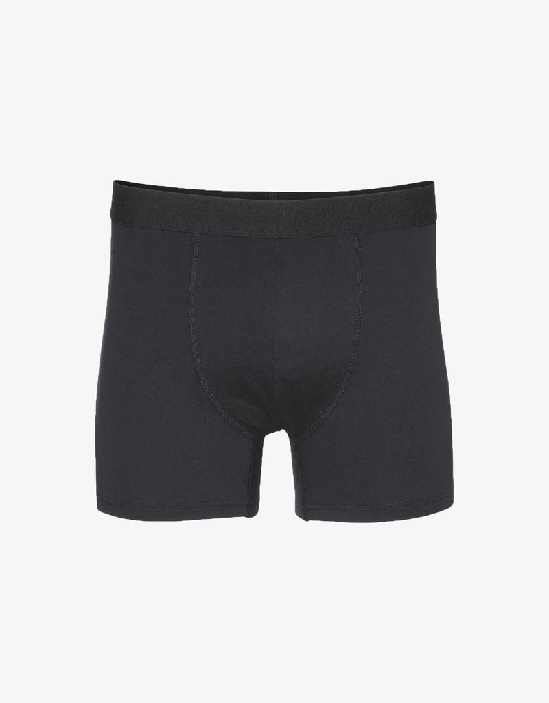 COLORFUL STANDARD Colorful Standard Classic Organic Boxer Briefs Deep Black