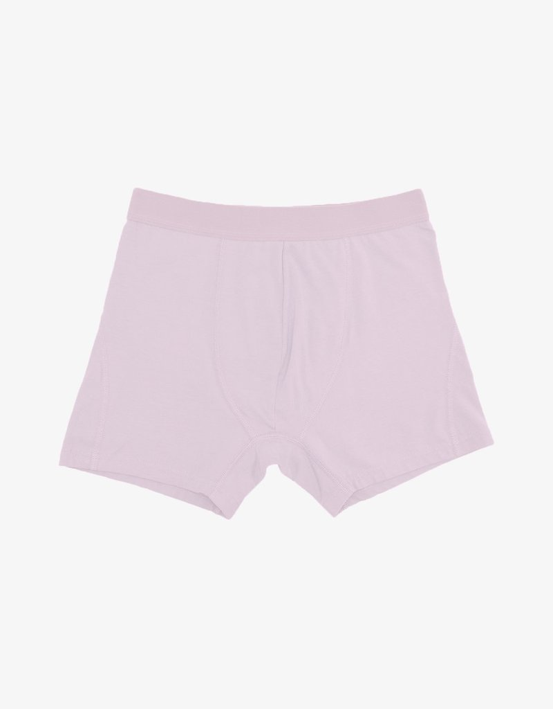 COLORFUL STANDARD Colorful Standard Classic Organic Boxer Briefs Faded Pink