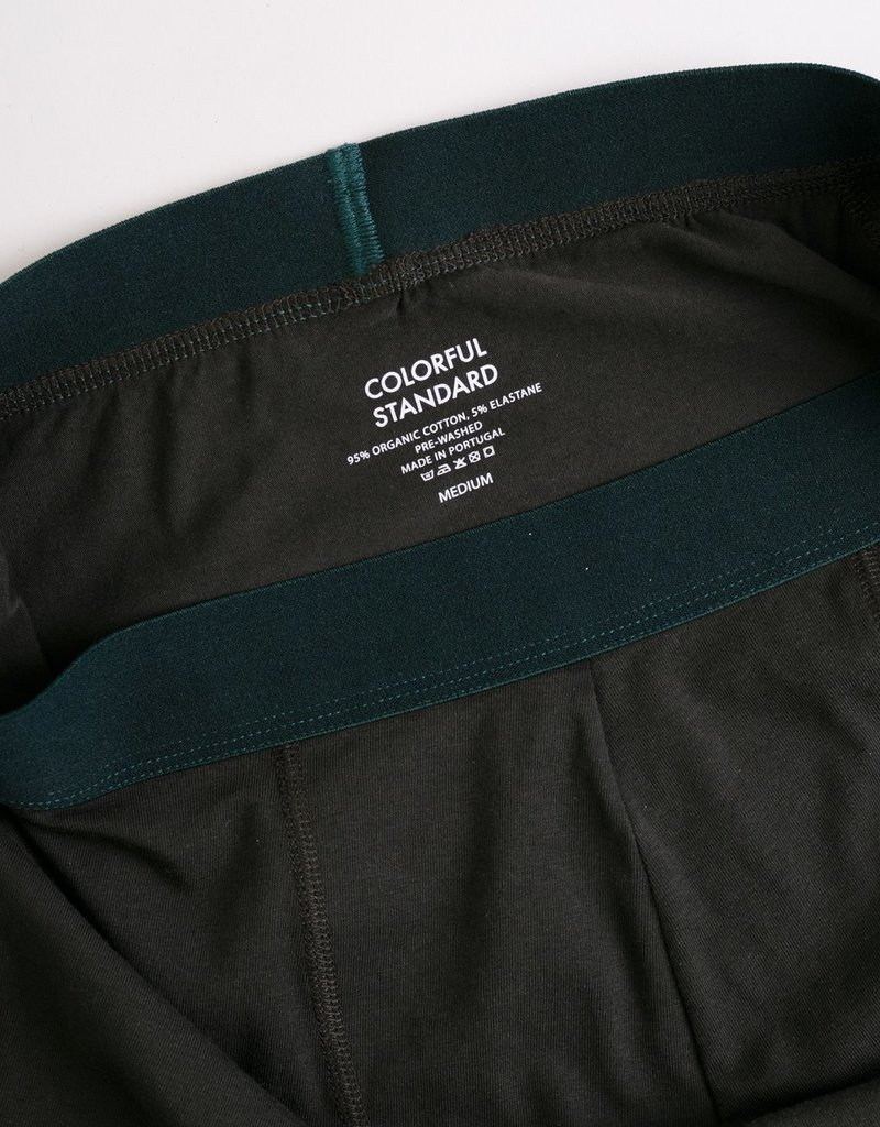 COLORFUL STANDARD Colorful Standard Classic Organic Boxer Briefs Hunter Green