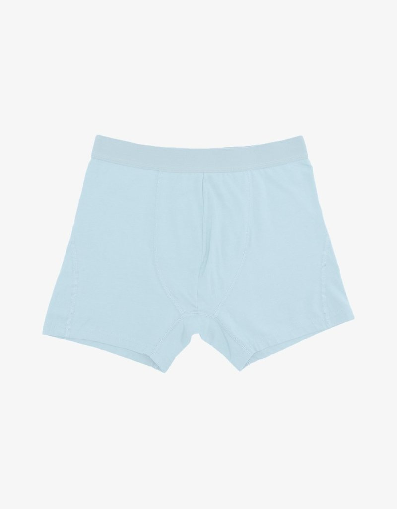 COLORFUL STANDARD Colorful Standard Classic Organic Boxer Briefs Polar Blue