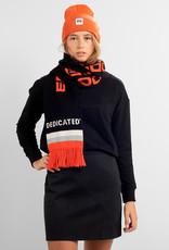 DEDICATED Dedicated Scarf Knitted Rosse Nes Logo Black