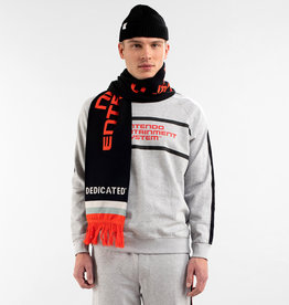 DEDICATED SCARF KNITTED ROSSE NES LOGO