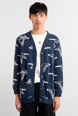 DEDICATED Dedicated Cardigan Molkom Ducks Blue