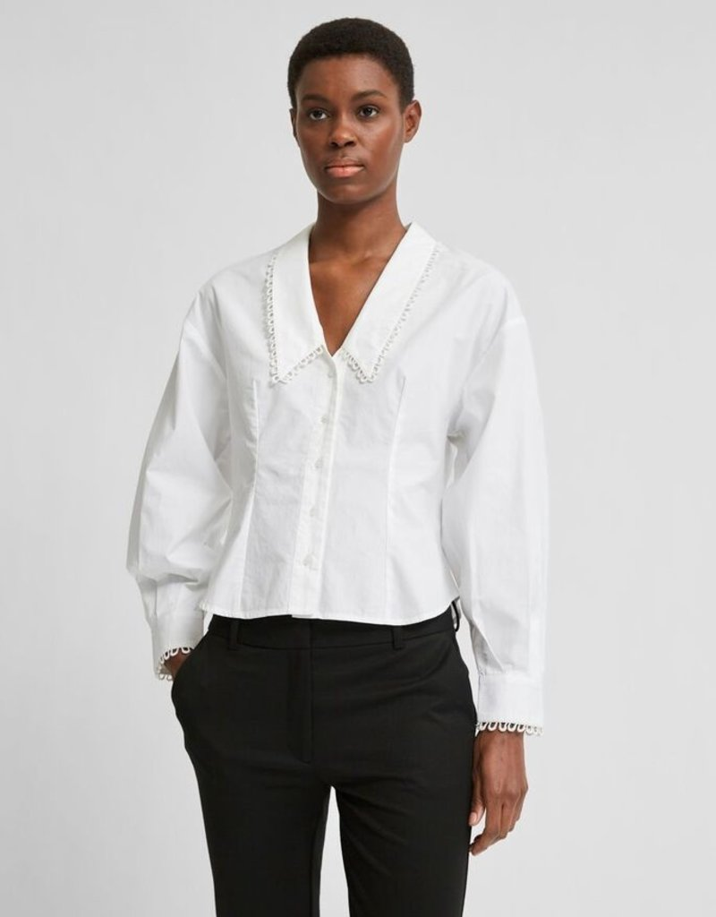 SELECTED FEMME Slfromance LS Bright White