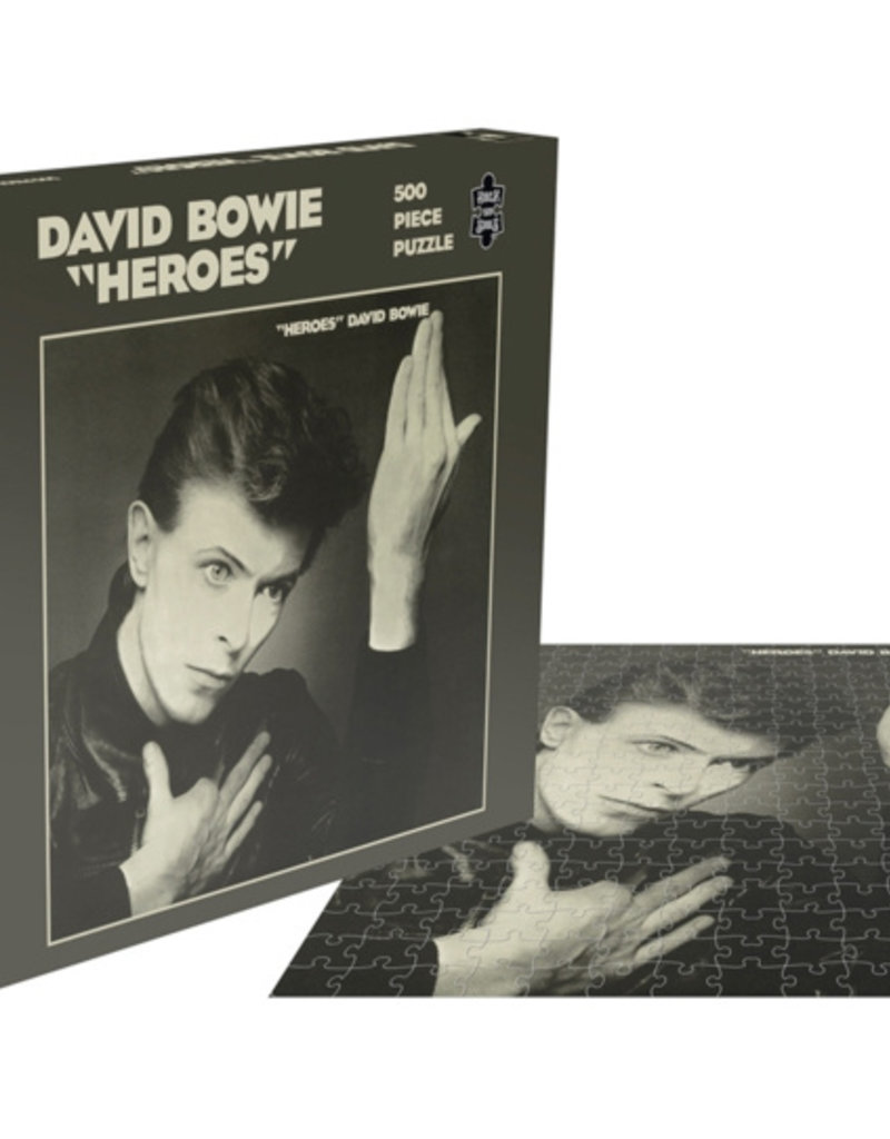 HARDWERK FOGELTJE Puzzle David Bowie - Heroes