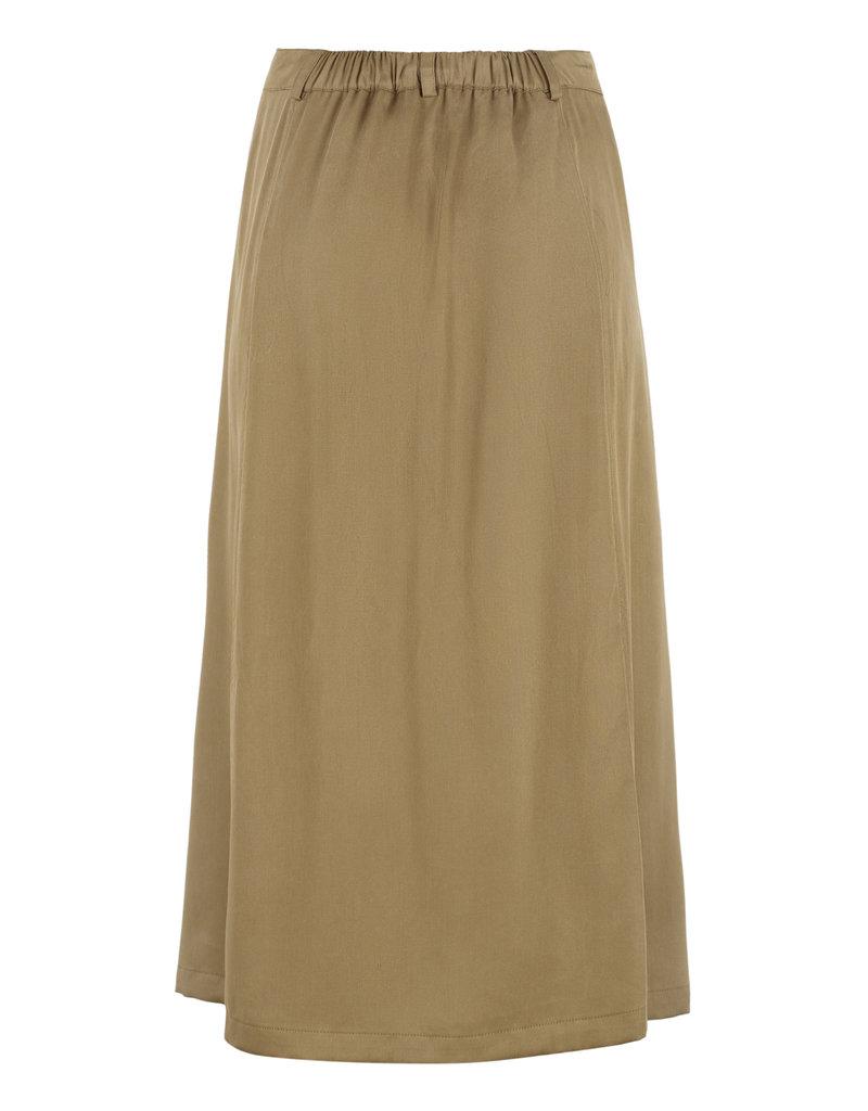SOFT REBELS SRMonica Midi Skirt Dijon