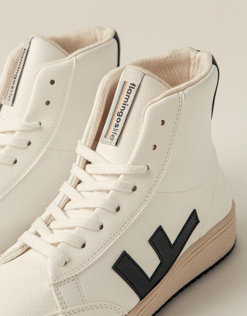 FLAMINGOS' LIFE Old 80s White Black Bicolor