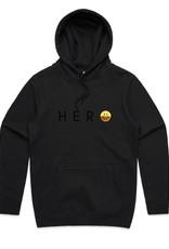 HEROES ON SOCKS Sunny Smile Hoodie Black