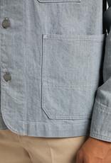 LEE Box Pocket Loco Jacket In Rinse