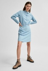 SELECTED FEMME SlfGilli Skirt Light Blue