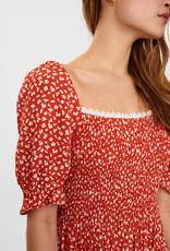 NÜMPH Nuclary Dress Red Clay