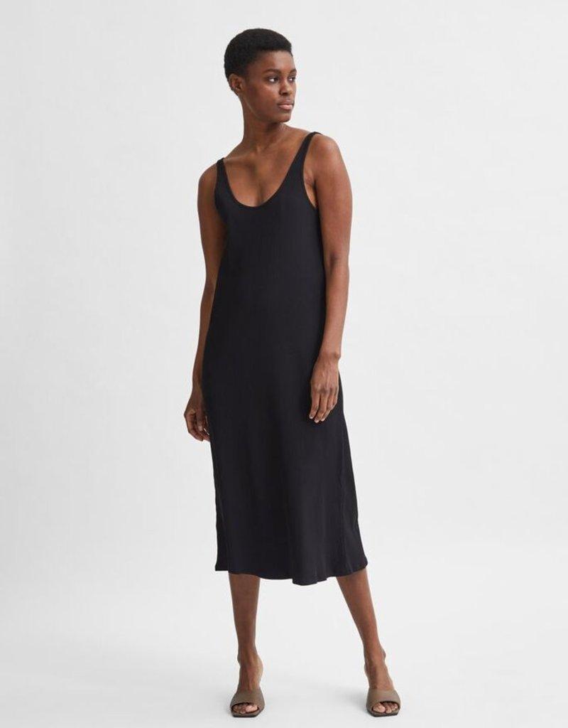 SELECTED FEMME Slfanna Strap Dress Black