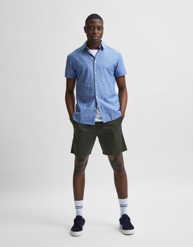 SELECTED HOMME Slhmiles Flex Chino Forest Night