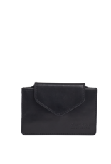 OH MY BAG AMSTERDAM Harmonica Wallet Black Classic Leather