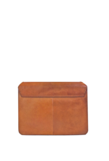 OH MY BAG AMSTERDAM Audrey Cognac Classic Leather - Checked Strap
