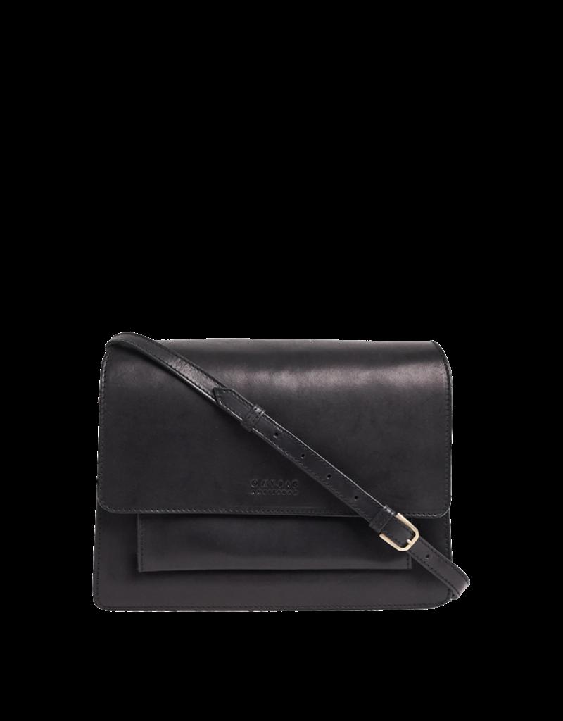 OH MY BAG AMSTERDAM Harper Black Classic Leather
