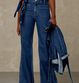 KINGS OF INDIGO JANE WIDE FLARE FIT