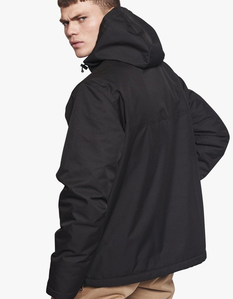 WOODBIRD Frenzy Anorak Jacket Black