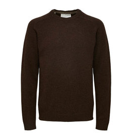 SELECTED HOMME SLHEWCOBAN LAMS WOOL CREW NECK W