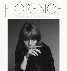 Hardwerk Fogeltje Florence + the machine - How big, How bleu, How beautiful