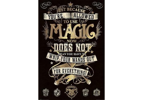 Poster 104 |  Harry Potter Magic