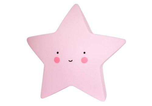Ster lamp Roze Mini
