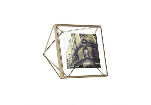 Prisma fotolijst 10x10cm Goud
