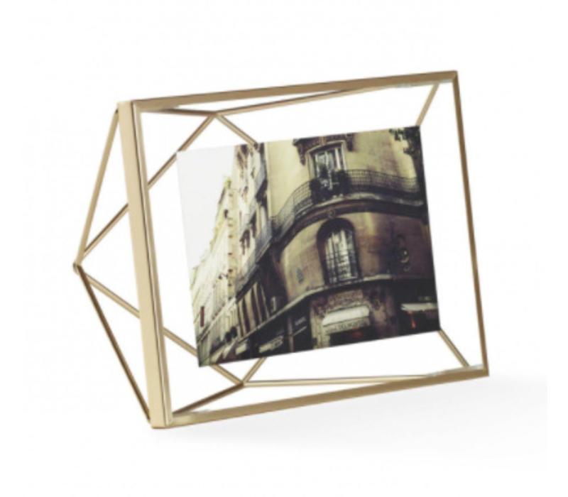 Prisma- fotolijst 10x15cm goud