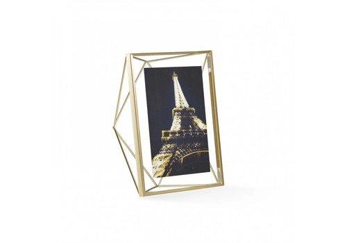 Prisma fotolijst 13x18cm Goud