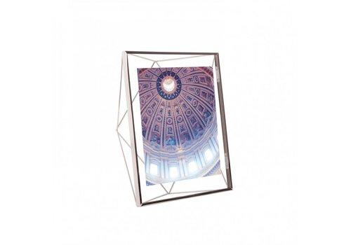 Prisma- fotolijst 20x25cm chroom