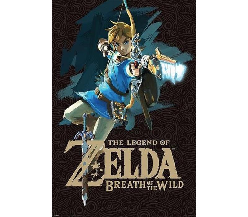 Poster |  Zelda Breath of the wild game cover