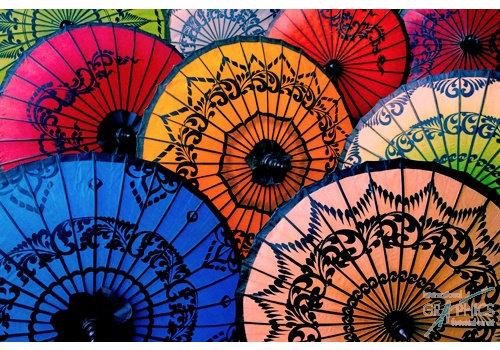 Ombrelles Birmanie V