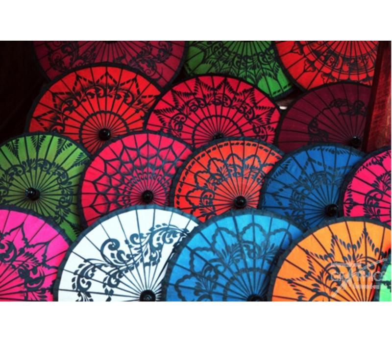 Ombrelles Birmanie IV