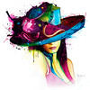 Patrice Murciano La jeune fille au chapeau