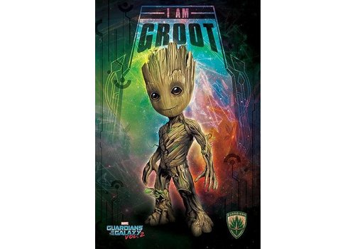 Poster 04 |  GUARDIANS OF THE GALAXY VOL. 2 I AM GROOT SPACE