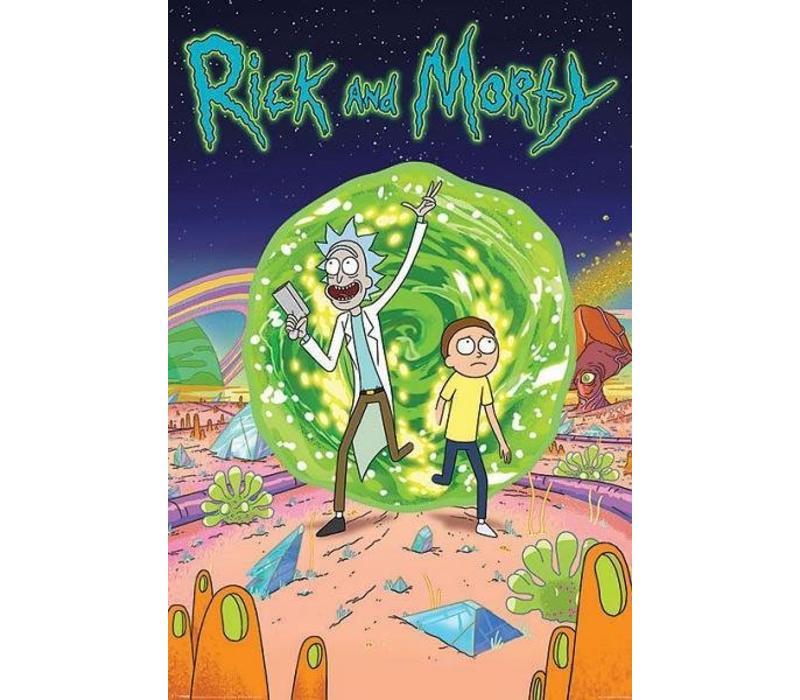 Poster |  RICK & MORTY PORTAL