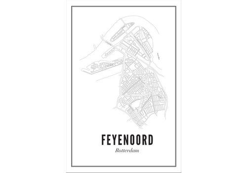 Wijck Poster A4 - Feijenoord