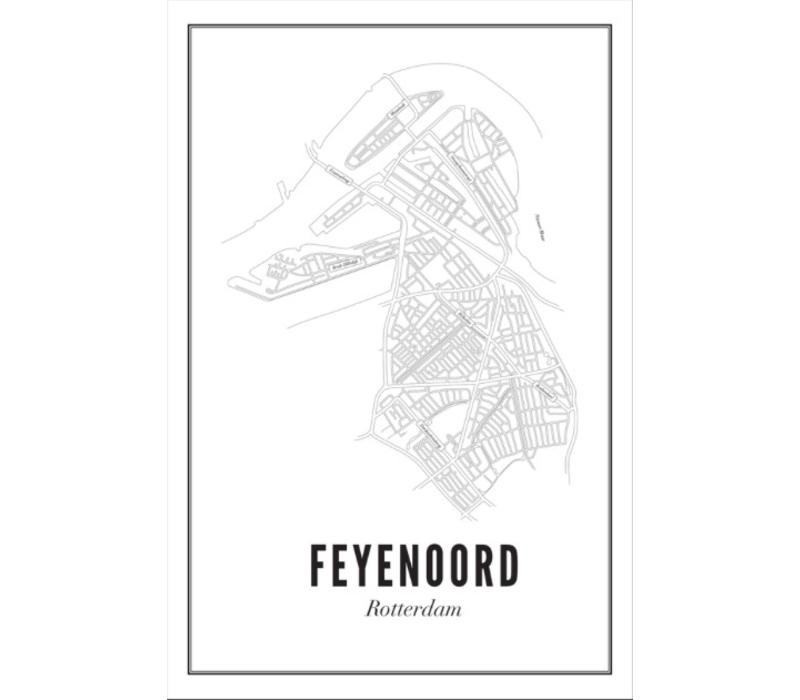 A4 Poster Feijenoord