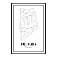 Ansichtkaart Oude Westen