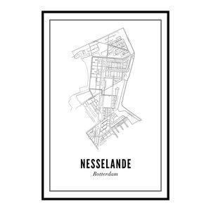 Wijck Poster A4 - Nesselande