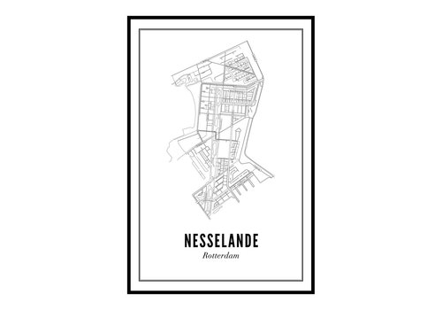 Wijck A4 Poster Nesselande