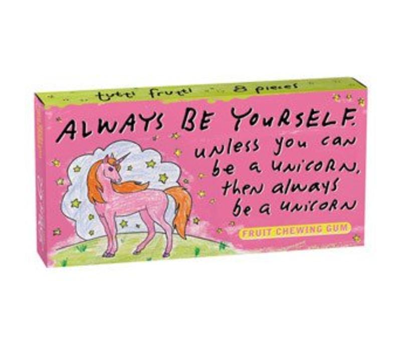 Kauwgom - Always be a unicorn