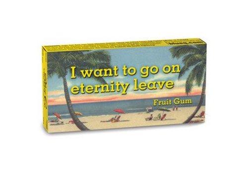 Cortina Kauwgom - I want to go on eternity leave