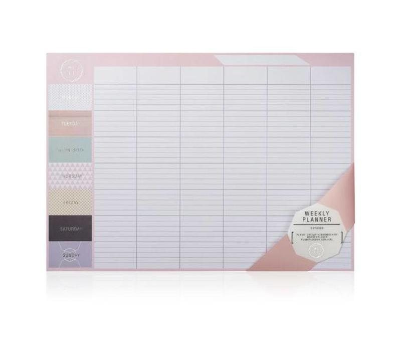 Bureauplanner -We live like this Weekly