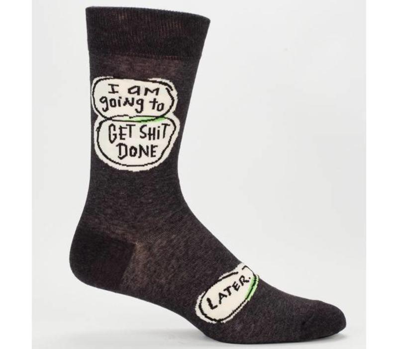 Heren sokken - Get shit done later