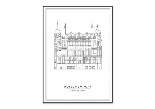 Cityprints Hotel New York 50x70cm